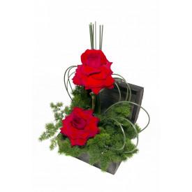 Arranjo de Flores Delicada paixão