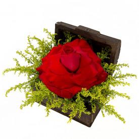 Arranjo de Flores Tesouro vermelho