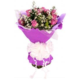Buquê de Flores Purple roses