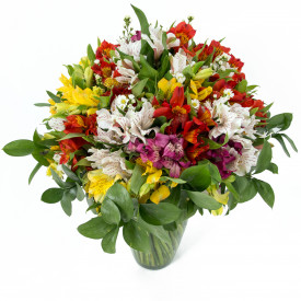 Buquê de Flores Colorido Alegre