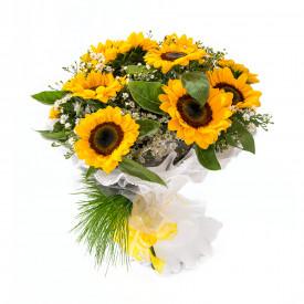 Buquê de Flores Encanto de Girassóis