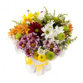 Buquê de Flores Fagulha Alegria campestre