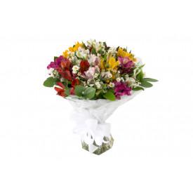 Buquê de flores ESPECIAL alstromélias