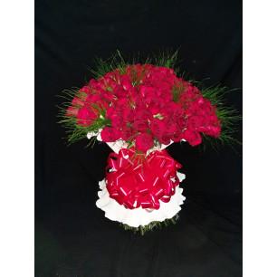 Especial - Arranjo com 200 Rosas Vermelhas