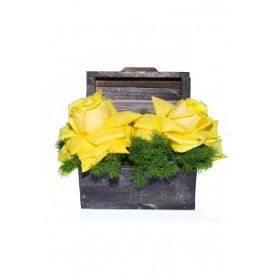 Arranjo de Flores Alegria com você