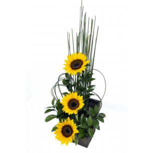 Arranjo de Flores Girassol Encantado
