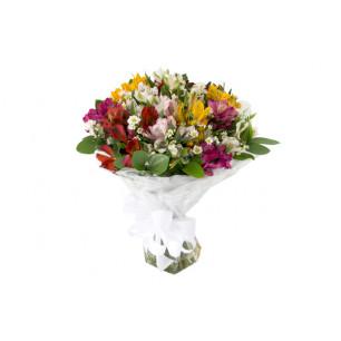 Buquê de Flores Especial de Astromélias